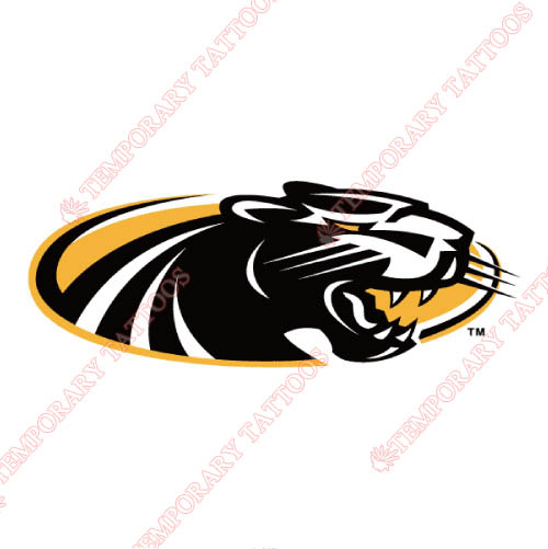 Wisconsin Milwaukee Panthers Customize Temporary Tattoos Stickers NO.7041