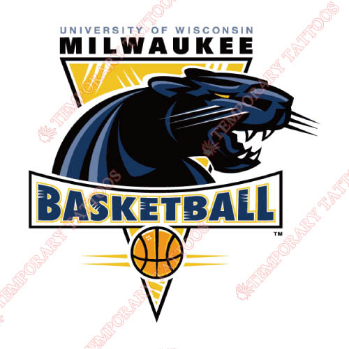 Wisconsin Milwaukee Panthers Customize Temporary Tattoos Stickers NO.7043