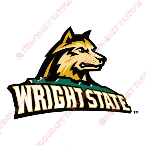 Wright State Raiders Customize Temporary Tattoos Stickers NO.7051