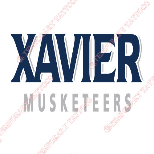 Xavier Musketeers Customize Temporary Tattoos Stickers NO.7080