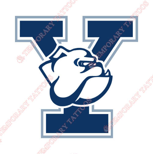 Yale Bulldogs Customize Temporary Tattoos Stickers NO.7088