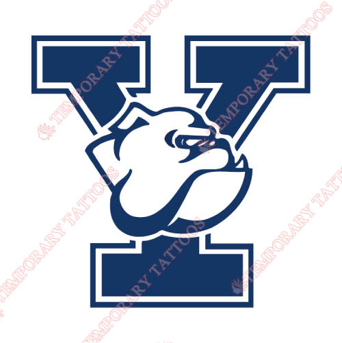 Yale Bulldogs Customize Temporary Tattoos Stickers NO.7092