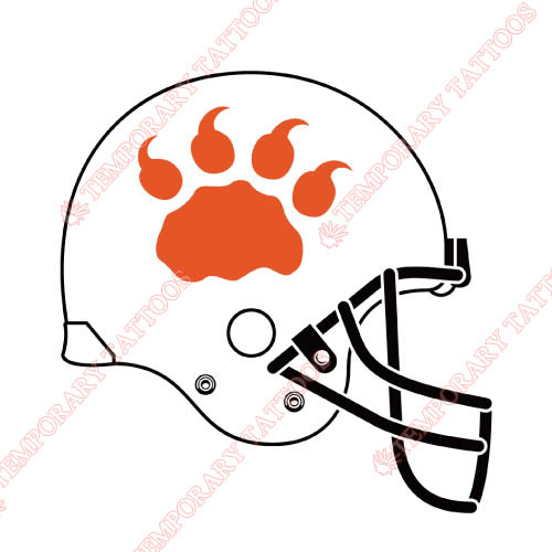 BC Lions Customize Temporary Tattoos Stickers NO.7576