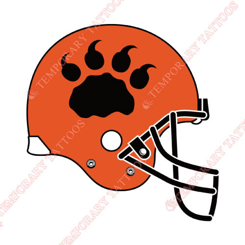 BC Lions Customize Temporary Tattoos Stickers NO.7578