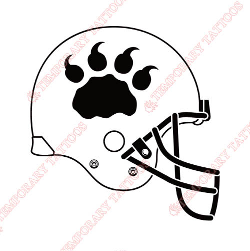 BC Lions Customize Temporary Tattoos Stickers NO.7580