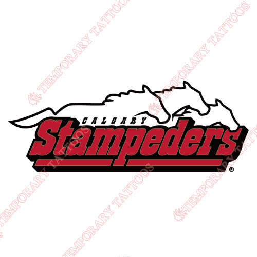 Calgary Stampeders Customize Temporary Tattoos Stickers NO.7584