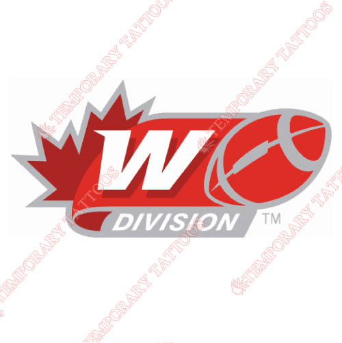 Canadian Football League Customize Temporary Tattoos Stickers NO.7643