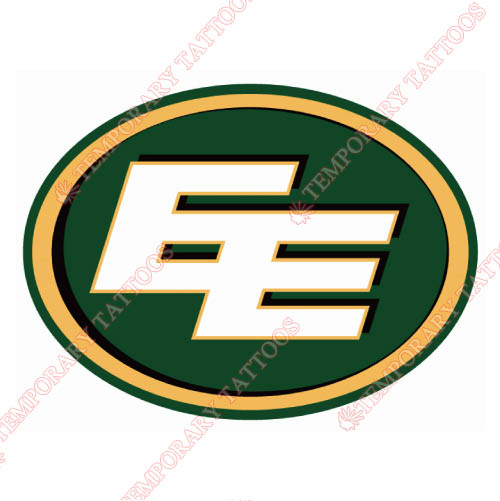 Edmonton Eskimos Customize Temporary Tattoos Stickers NO.7591