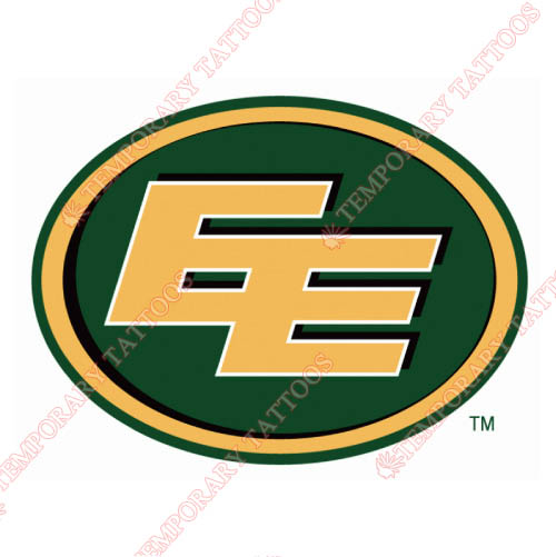 Edmonton Eskimos Customize Temporary Tattoos Stickers NO.7592