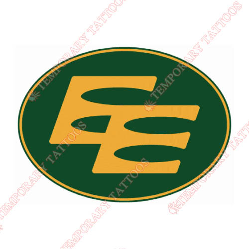 Edmonton Eskimos Customize Temporary Tattoos Stickers NO.7593