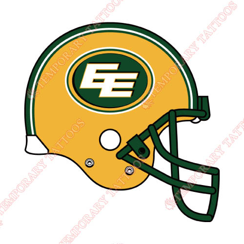 Edmonton Eskimos Customize Temporary Tattoos Stickers NO.7594