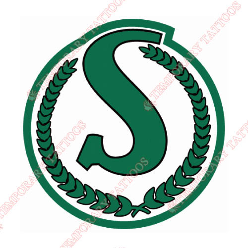 Saskatchewan Roughriders Customize Temporary Tattoos Stickers NO.7620