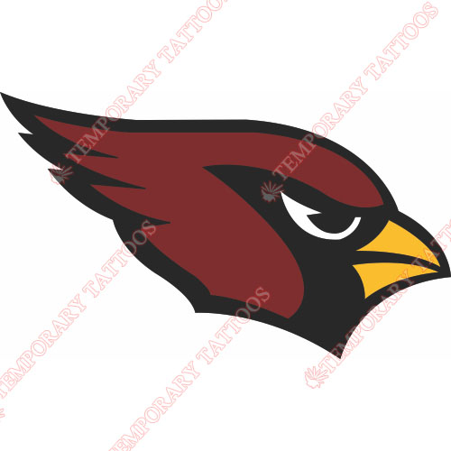 Arizona Cardinals Customize Temporary Tattoos Stickers NO.382