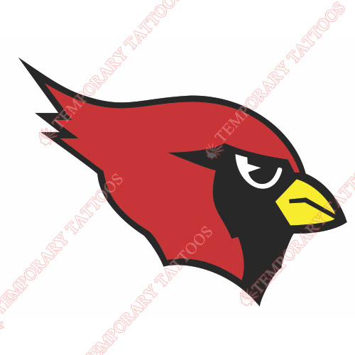 Arizona Cardinals Customize Temporary Tattoos Stickers NO.383