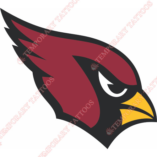 Arizona Cardinals Customize Temporary Tattoos Stickers NO.384