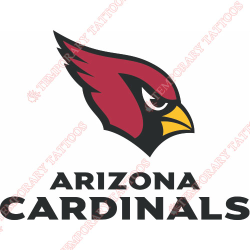 Arizona Cardinals Customize Temporary Tattoos Stickers NO.387