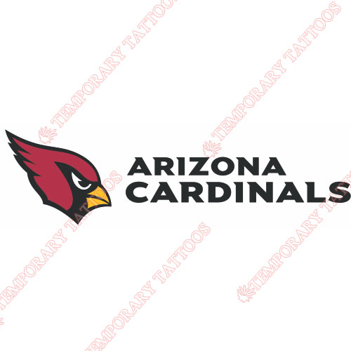 Arizona Cardinals Customize Temporary Tattoos Stickers NO.388