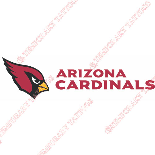 Arizona Cardinals Customize Temporary Tattoos Stickers NO.389