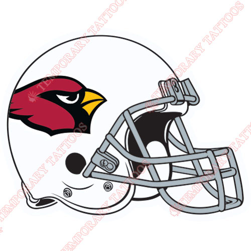 Arizona Cardinals Customize Temporary Tattoos Stickers NO.390