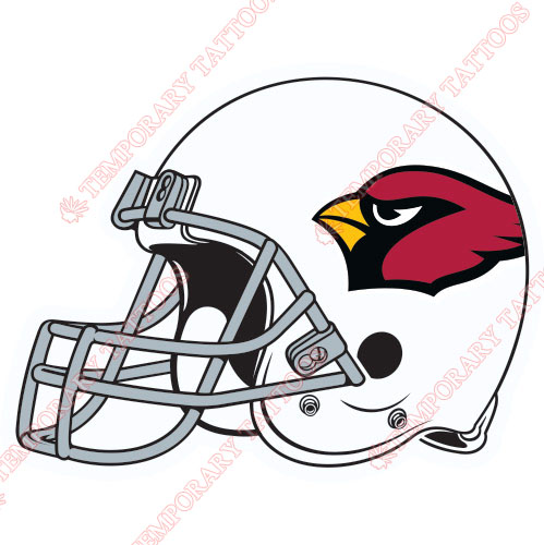 Arizona Cardinals Customize Temporary Tattoos Stickers NO.391