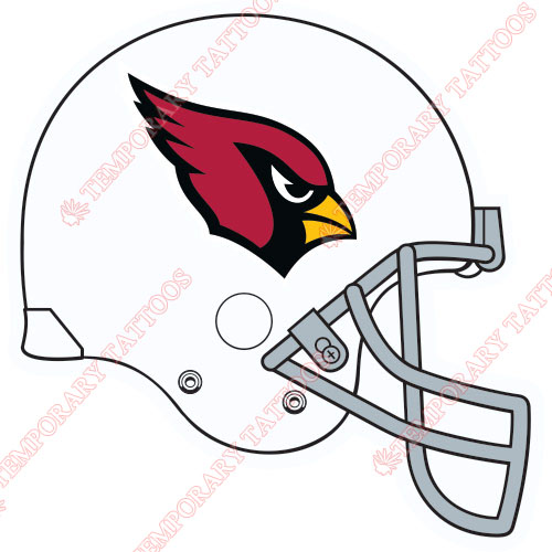 Arizona Cardinals Customize Temporary Tattoos Stickers NO.392