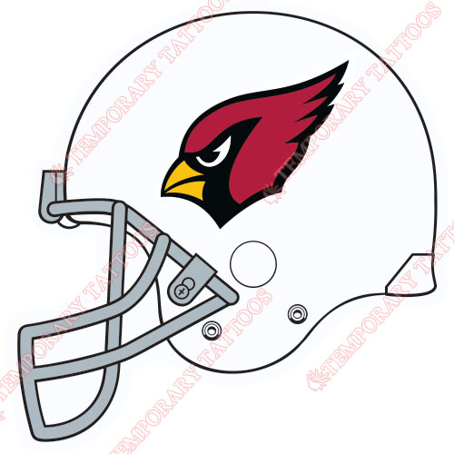 Arizona Cardinals Customize Temporary Tattoos Stickers NO.393