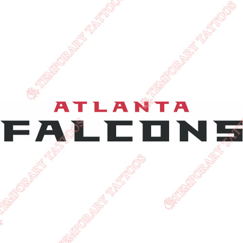 Custom temporary tattoos tattoo stickers tattoo sales for Atlanta falcons tattoo