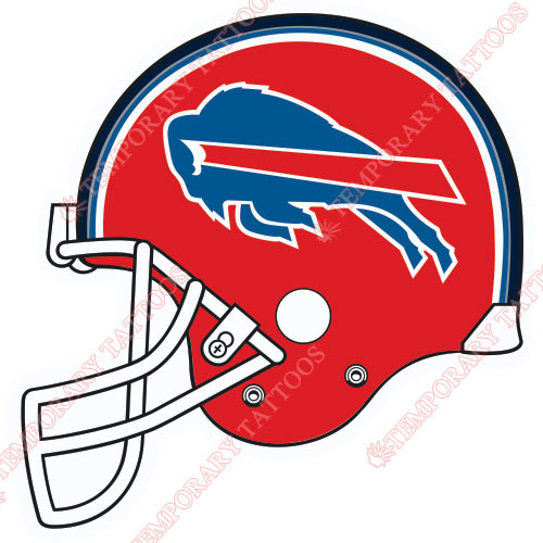 Buffalo Bills Customize Temporary Tattoos Stickers NO.434