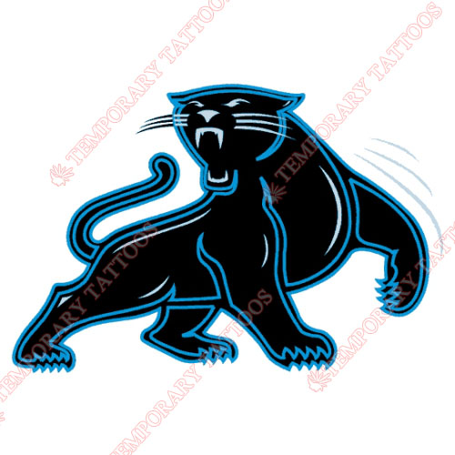 Carolina Panthers Customize Temporary Tattoos Stickers NO.438