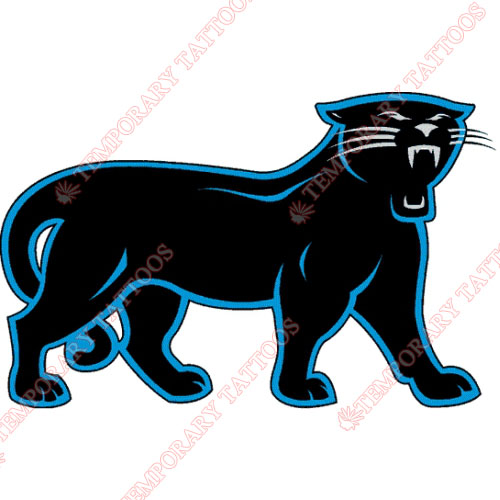 Carolina Panthers Customize Temporary Tattoos Stickers NO.439