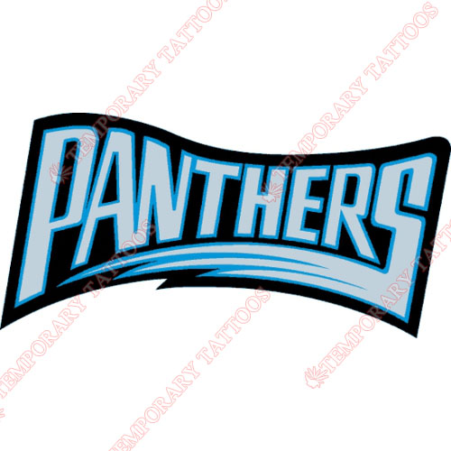 Carolina Panthers Customize Temporary Tattoos Stickers NO.441