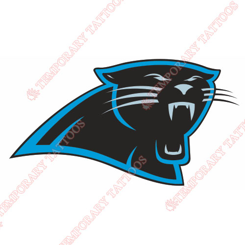Carolina Panthers Customize Temporary Tattoos Stickers NO.444