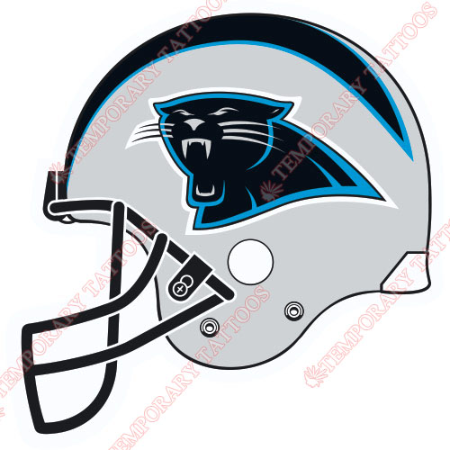 Carolina Panthers Customize Temporary Tattoos Stickers NO.446