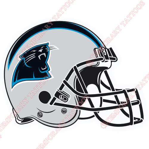 Carolina Panthers Customize Temporary Tattoos Stickers NO.447