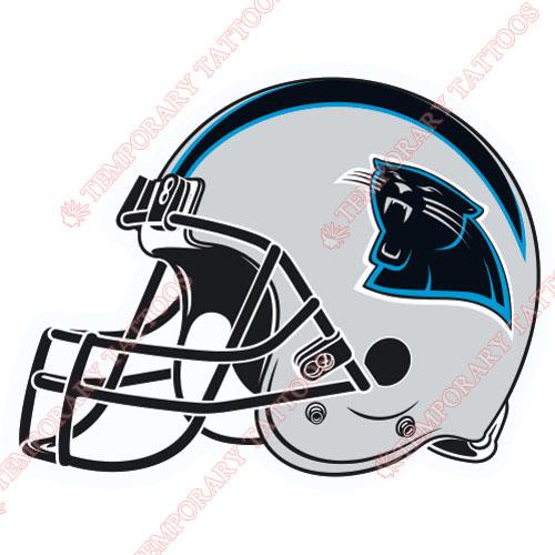 Carolina panthers customize temporary tattoos stickers no for Carolina panthers tattoos