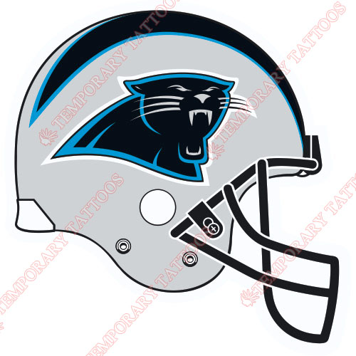 Carolina Panthers Customize Temporary Tattoos Stickers NO.449