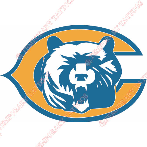 Chicago Bears Customize Temporary Tattoos Stickers NO.455