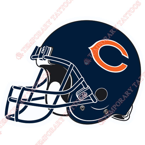 Chicago Bears Customize Temporary Tattoos Stickers NO.461
