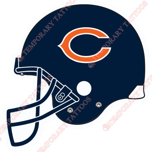 Chicago Bears Customize Temporary Tattoos Stickers NO.462