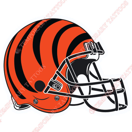 Cincinnati Bengals Customize Temporary Tattoos Stickers NO.477