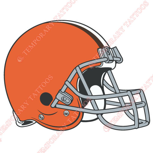 Cleveland Browns Customize Temporary Tattoos Stickers NO.490