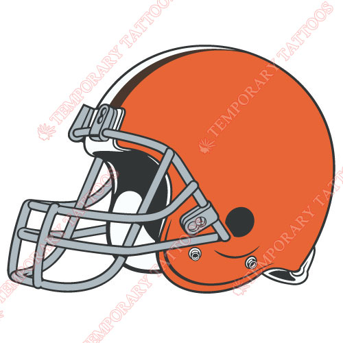 Cleveland Browns Customize Temporary Tattoos Stickers NO.491