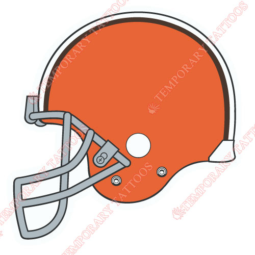 Cleveland Browns Customize Temporary Tattoos Stickers NO.492