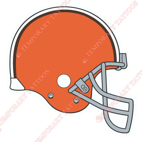 Cleveland Browns Customize Temporary Tattoos Stickers NO.493
