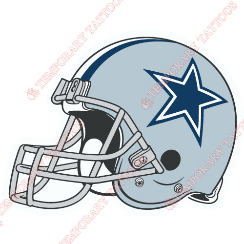 Dallas Cowboys Customize Temporary Tattoos Stickers NO.499