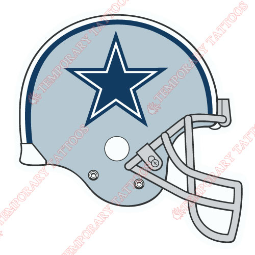 Dallas Cowboys Customize Temporary Tattoos Stickers NO.500