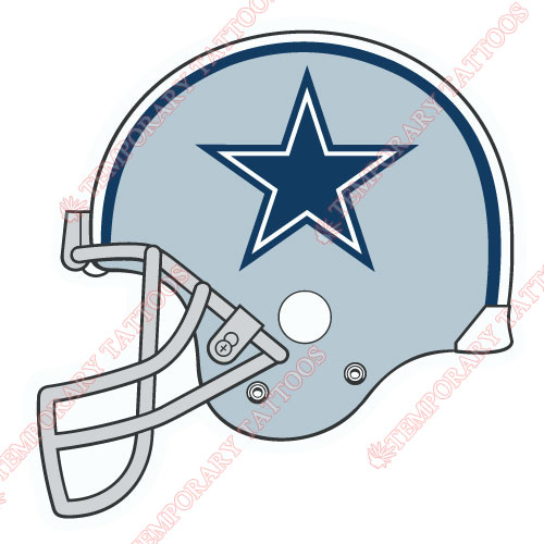 Dallas Cowboys Customize Temporary Tattoos Stickers NO.501