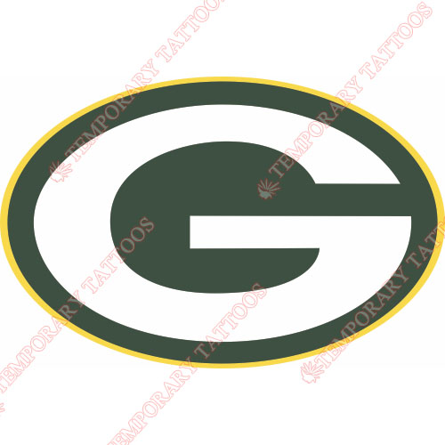 Green Bay Packers Customize Temporary Tattoos Stickers NO.525