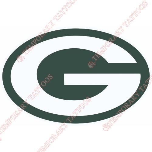Green Bay Packers Customize Temporary Tattoos Stickers NO.526