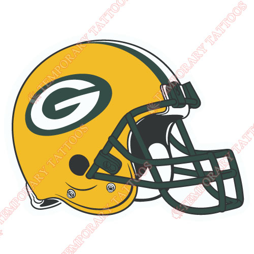 Green Bay Packers Customize Temporary Tattoos Stickers NO.528